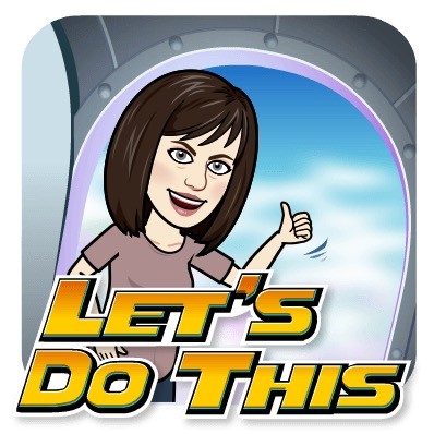 Bitmoji avatar Let's Do This