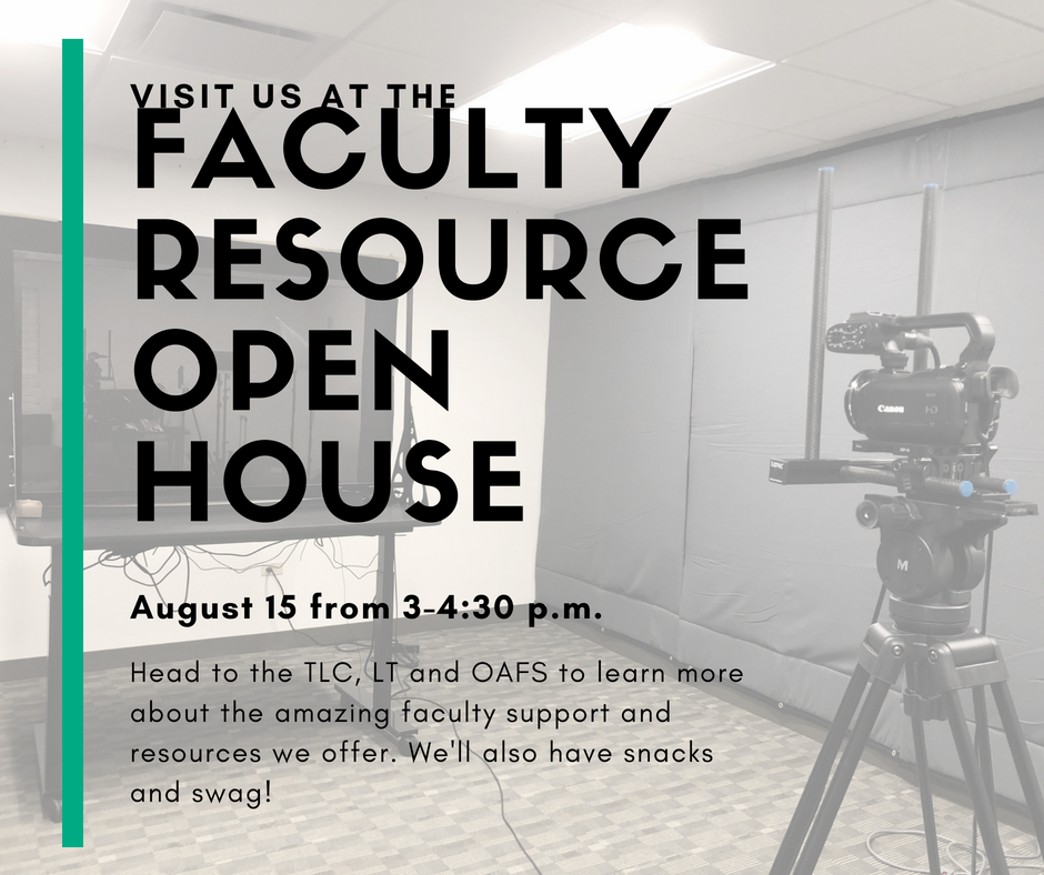 Faculty Resource Open House