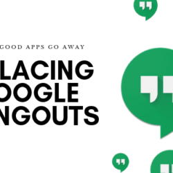 Replacing Google Hangouts, hangouts Logo