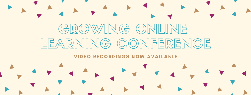 Growing Online learning Conference Videos Now Available