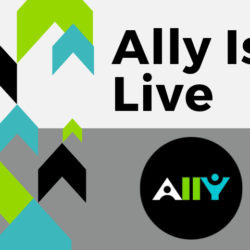 Ally Is Live, With Ally Logo