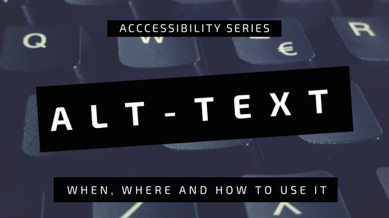 Alt Text: An Introduction to Creating Accessible Web-Based Images