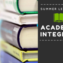 Summer learning opportunities on academic integrity