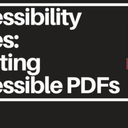 Creating Accessible PDFs