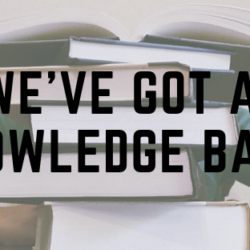 We've Got a Knowledge Base