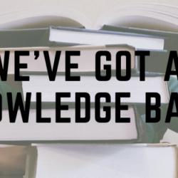 We've Got a Knowledge Base