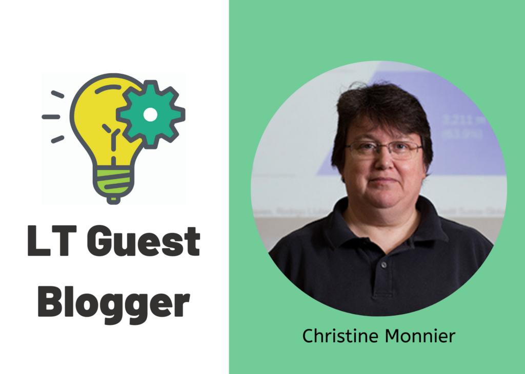 LT Guest Blogger: Christine Monnier