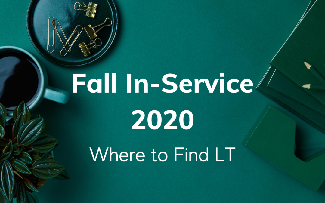 Fall 2020 In-Service Schedule
