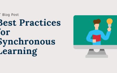 Best Practices for Synchronous Online Teaching and Learning