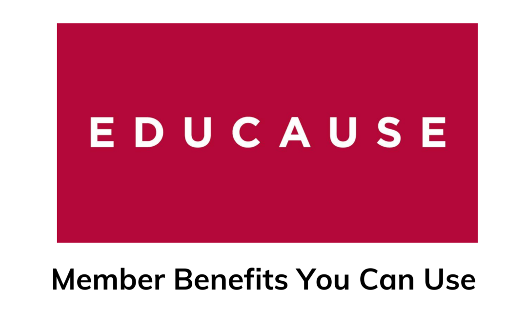Educause Membership Benefits
