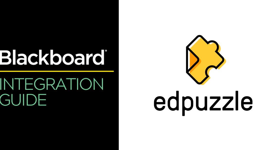 Blackboard Integration Guide: Edpuzzle